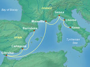 7-Night Italy, Spain & France Cruise on Princess