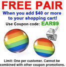 Pride Shack - Free Earrings with $40+ Order
