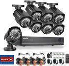Sannce 8-Camera 960H / 1080p CCTV Security Camera System