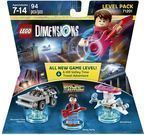 WB Games Lego Dimensions Back to the Future Level Pack