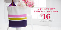 Indigo Books & Music CA - $16 Mother's Day Canvas Tote with $40+ Order