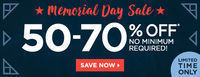 Fabletics - 50-70% Off Memorial Day Sale