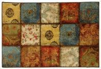 Mohawk Home Free Flow 20x34 Artifact Panel Printed Rug