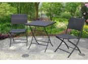 Mainstays Haynes 3-Piece Folding Bistro Set