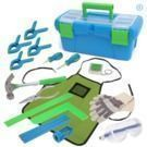 Kids 18-Piece Tool Set w/ Blue Toolbox