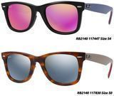 Rayban RB2140 Original Wayfarer Flash Lenses Sunglasses