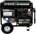 DuroMax 10000W Hybrid Dual Fuel Gas Propane Generator