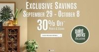 Sherwin Williams - 30% Off Paints & Stains (In-Store)