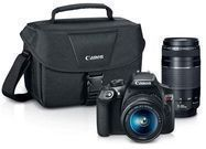 Canon EOS Rebel T6 18MP DSLR Bundle w/ 2 Lenses
