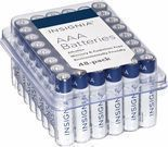 Insignia AAA Battery 48-Pack or Insignia AA Battery 48-Pack