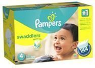 Pampers Swaddlers Size 4 Diapers, 144-Pack
