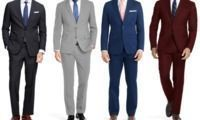 Men's Slim Fit 2-Piece Suit
