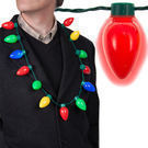 Simply Genius LED Light Up Christmas Bulb Necklace