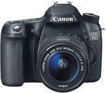 Canon EOS 70D Digital SLR Camera Body + 18-55mm IS STM Lens