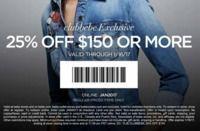 bebe - 25% Off $150+ Order