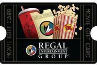 $50 Regal Entertainment Group Gift Card - Mail Delivery