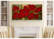 'Poppies' by Rio Print Painting