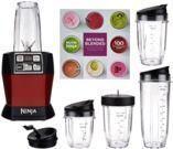 Nutri Ninja Auto iQ 1100W Personal Blender w/ Accessories