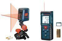 Bosch 100-Foot Laser Measure + 30-Foot Cross-Line Laser Kit