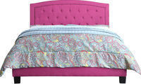 Gabriel Upholstered Twin Panel Bed by Mulhouse Furniture