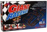 AFX Giant Raceway 62.5' HO Tri-Power Slot Car Track Set