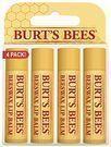 Burt's Bees Beeswax Lip Balm 4-Pack