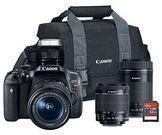 Canon EOS Rebel T6i 24.2mp Digital Slr Bundle