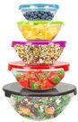 Home Basics 10-Piece Glass Mixing and Storage Bowl Set
