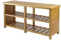 Keystone Entryway Bench with Shoe Storage