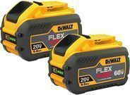 DeWalt 60V Max Flexvolt 9.0Ah Battery 2-Pack