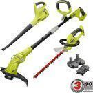 Ryobi One+ Lithium-Ion Cordless Trimmer and Blower Kit
