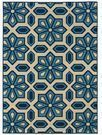 Newfield Ivory/Blue Indoor/Outdoor Area Rug