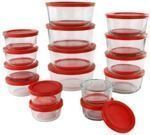 Pyrex Simply Store 32-Piece Glass Container Set