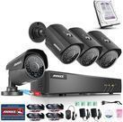 Annke 8-Channel 4-Camera 1TB Security System