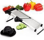 Sterline Adjustable Stainless Steel Mandoline Slicer