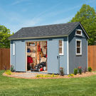 Berkdale 14' x 8' Wood Shed