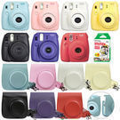 Fuji Instax Mini 8 Instant Film Camera w/ Case & 20 Film