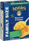 Annie's Family Size Mac and Cheese, 10.5 oz Box (Pack of 6)