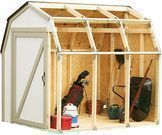 Hopkins 2x4 Basics Shed Kit with Barn Style Roof