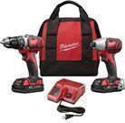 Milwaukee M18 18-volt Li-ion Cordless 2-Tool Combo Kit