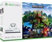 Microsoft Xbox One S 500gb Minecraft Adventure Bundle
