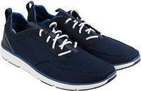 Clarks Orson Mens Blue Mesh Athletic Lace Up Training Shoes