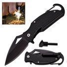 Survival Pocket Knife w/ Fire Starter
