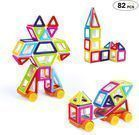Theefun 82 Pieces Mini Magnetic Blocks Set