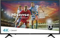Hisense 49H6E 49 4K HDR Flat LED Ultra HD Smart TV