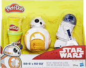 Play-Doh Stars BB-8 and R2-D2 Figure Set