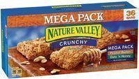 36-count Nature Valley Crunch Granola Bars Mega Pack