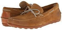 FRYE Men's Harris Tie Slip-On Loafer (Wheat Oiled Suede)
