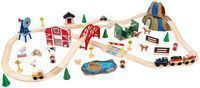 75-Piece KidKraft Farm Train Set
