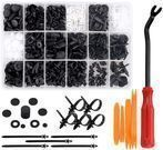 Preciva 415-Piece Car Retainer Clip and Fastener Kit